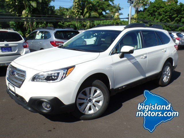 new 2016 subaru outback premium eyesight sport utility in hilo g631646 big island motors. Black Bedroom Furniture Sets. Home Design Ideas